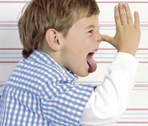 Stubbornness of the child